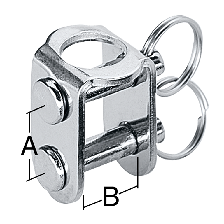 8 mm Stainless Steel U-Adaptor